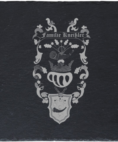 Schieferplatte-Wappen